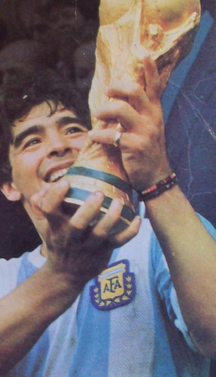 Diego Maradona quotes and images
