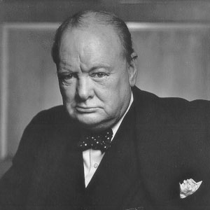 Sir Winston Churchill quotes and images