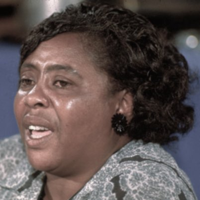 quote by Fannie Lou Hamer