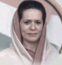 Picture of Sonia Gandhi