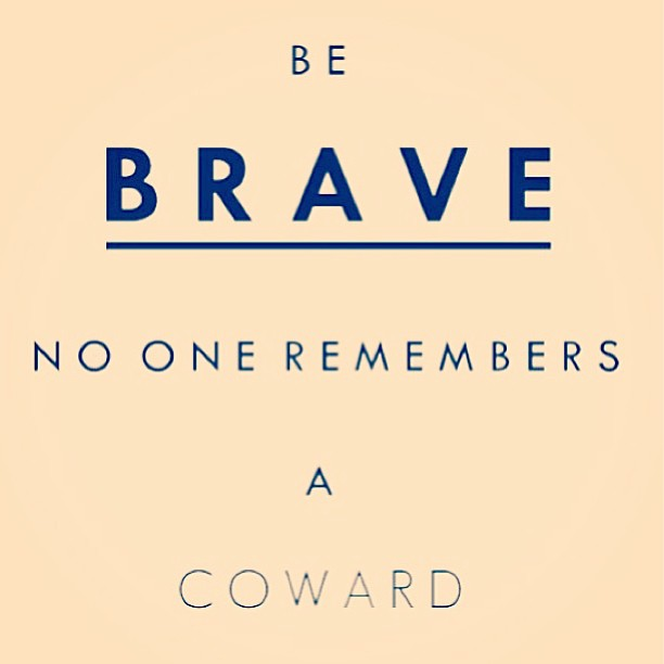 Cowards quote image