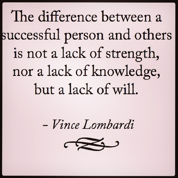 Different peoples quote The difference between a successful person and other is not a lack of strength,