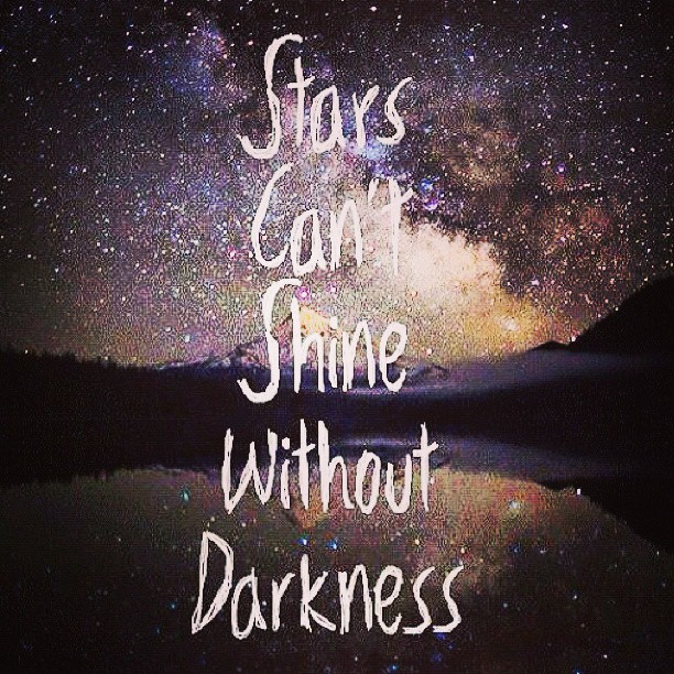 Picture quote about stars