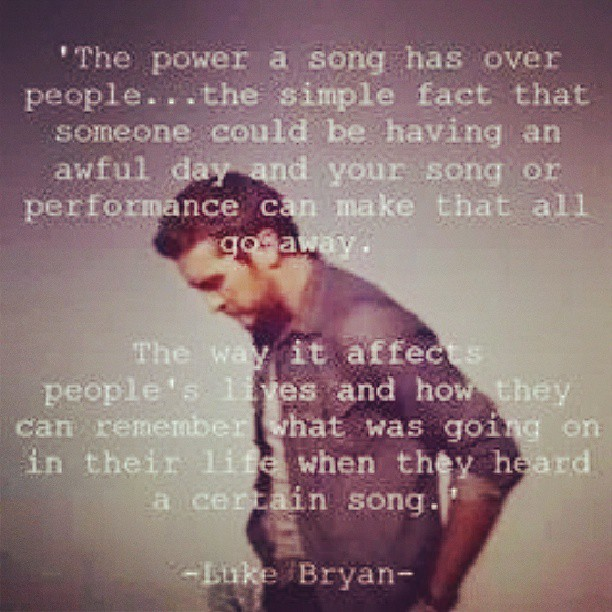 Affects quote The power of a song has over people... the simple fact that someone could be hav