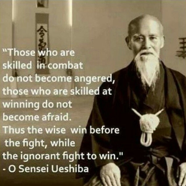 Combat quote Those who are skilled in combat do not become angered, those who are skilled at