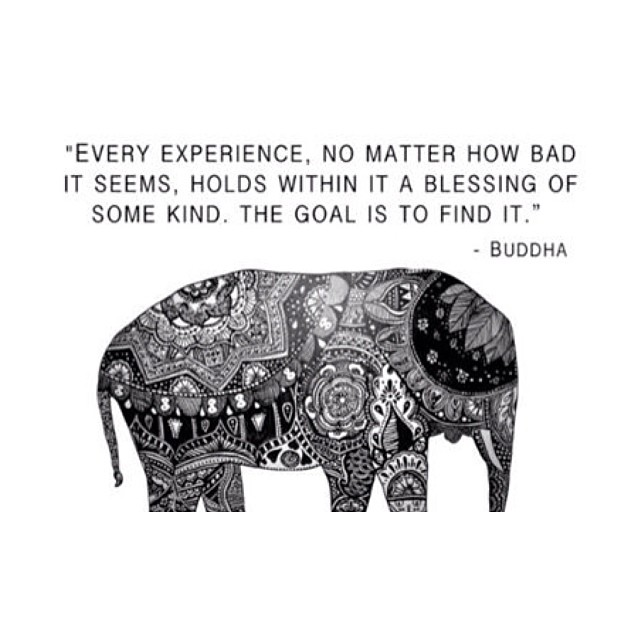 buddha experience quote image every experience no matter how
