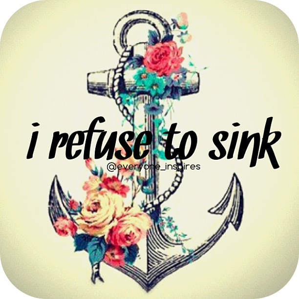 Refusing quote I refuse yo sink