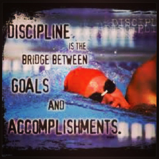 Discipline is the bridge between goals and accomplishments. - Unknown
