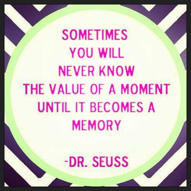 Dr Seuss Memory: Sometimes You Will Never Know The Value