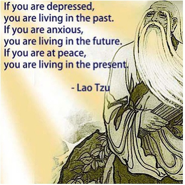 Futures quote If you are depressed, you are living in the past. If you are anxious, you are li