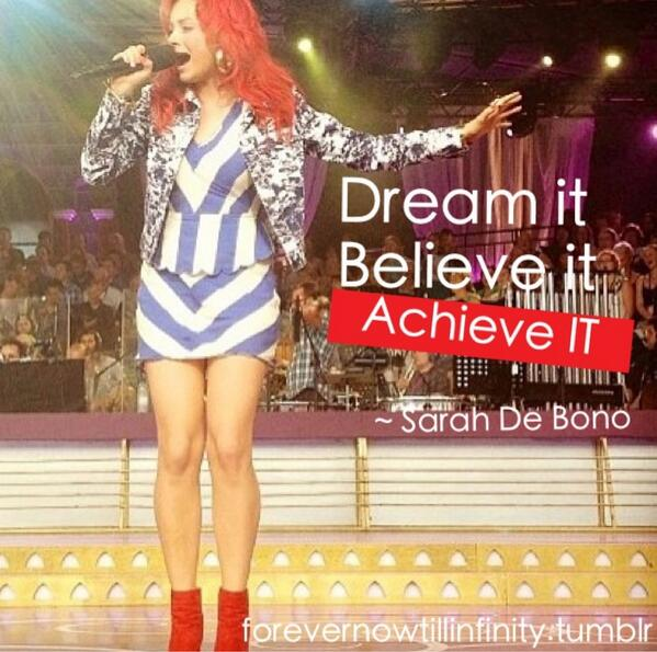 Believe in your dreams quote Dream it, believe it, achieve it