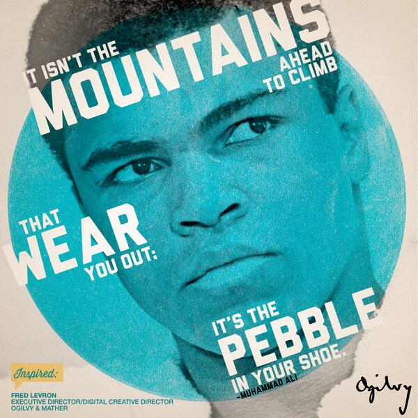 Shoe quote It isnt the mountains ahead to climb that wear you out; its the pebble in your s