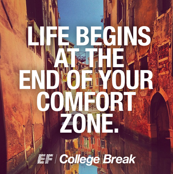 Zone quote Life begins at the end of your comfort zone.