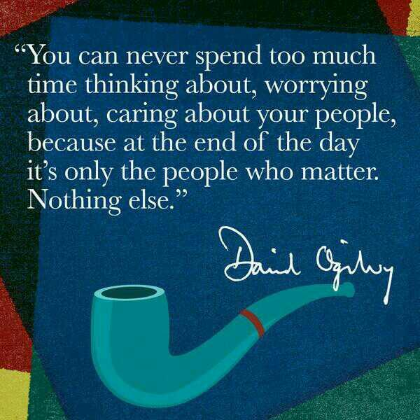Caring quote You can never spend too much time thinking about, worrying about, caring about y