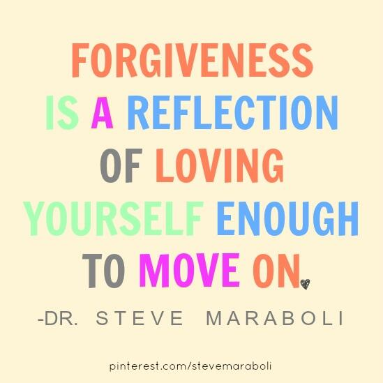 Reflection quote Forgiveness is a reflection of loving yourself enough to move on.