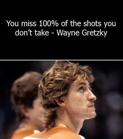 Hot image quote by Wayne Gretzky