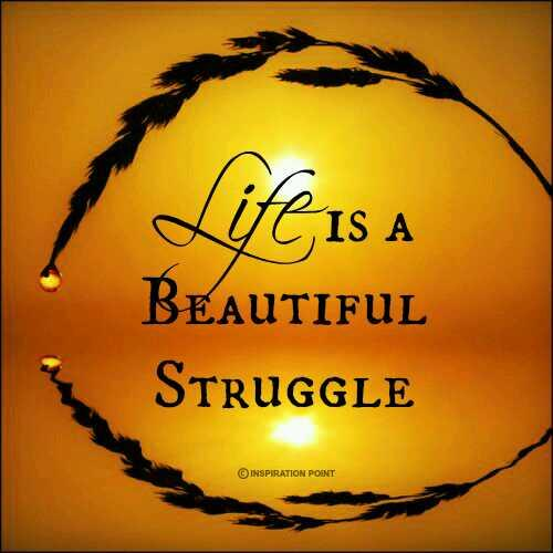 Life Is A Beautiful Struggle Unknown Life Image