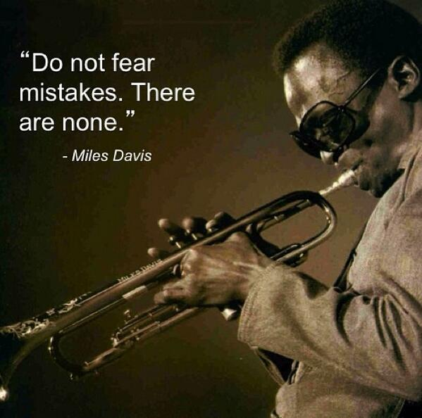 image quote by Miles Davis