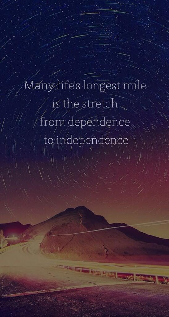 Independence quote image