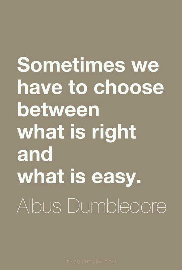 Picture quote about choice
