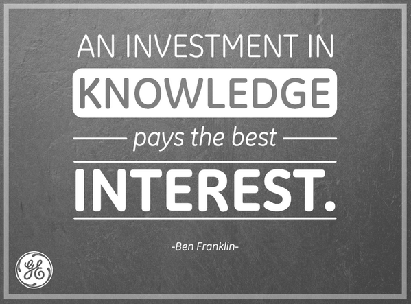 Interested quote An investment in knowledge pays the best interest