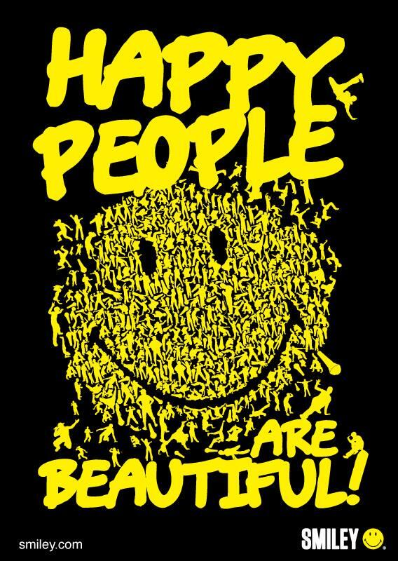Beautiful people quote Happy people are beautiful!