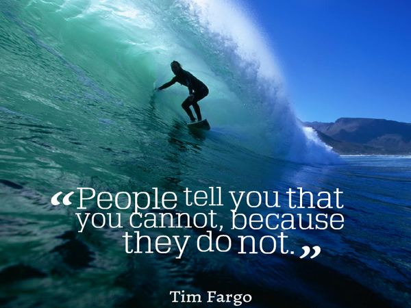 image quote by Tim Fargo