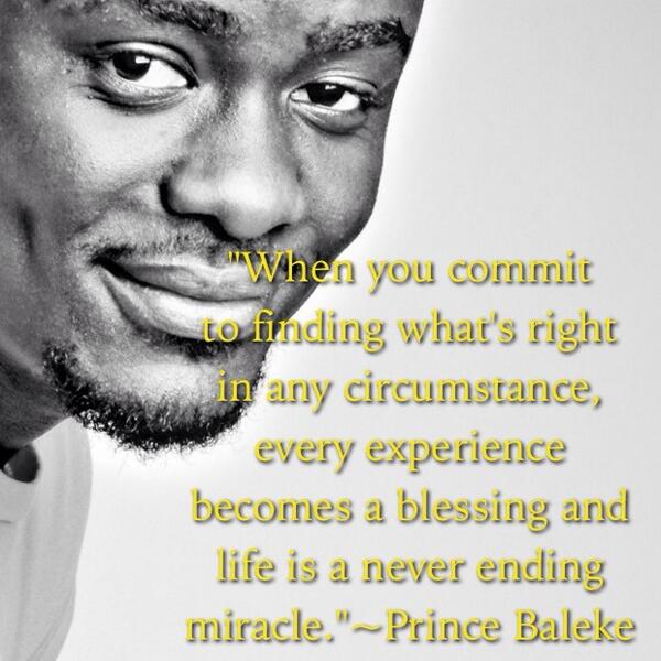 Miracles quote When you commit to finding whats right in any circumstance, every experience bec