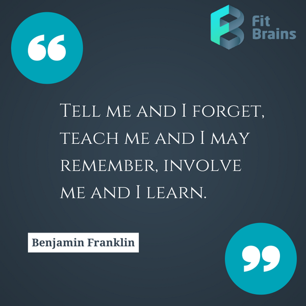 Picture quote by Benjamin Franklin about wisdom