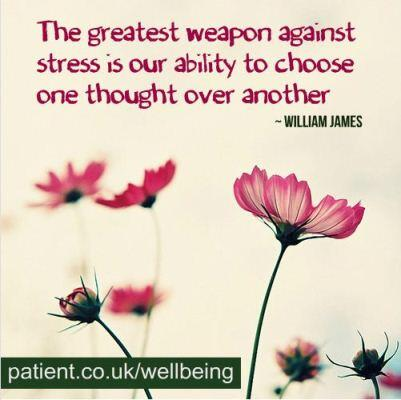 Picture quote by William James about thinking