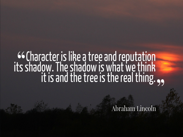 image quote by Abraham Lincoln
