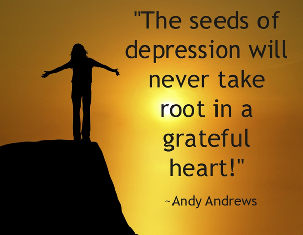 Seeds quote The seeds of  will never take root in a grateful heart!
