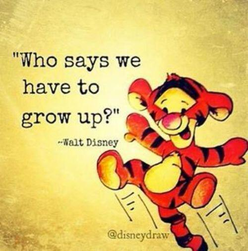 Adult image quote by Walt Disney