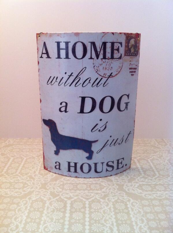 Pet dog quote A home without a dog is just a house.