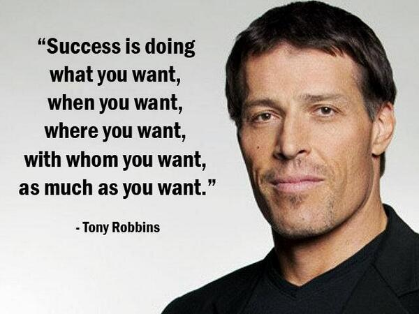 image quote by Tony Robbins