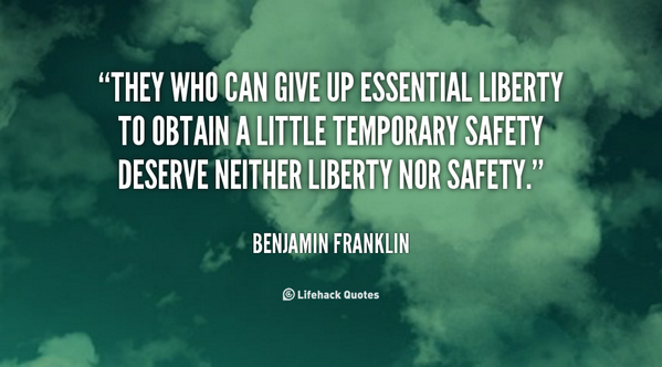 Essentials quote They who can give up essential liberty to obtain a little temporary safety deser