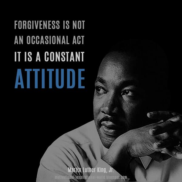 Forgiveness image quote by Martin Luther King, Jr.