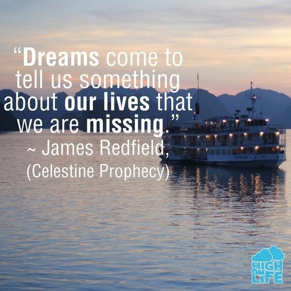 Missing quote Dreams come to tell us something about our lives that we are missing.