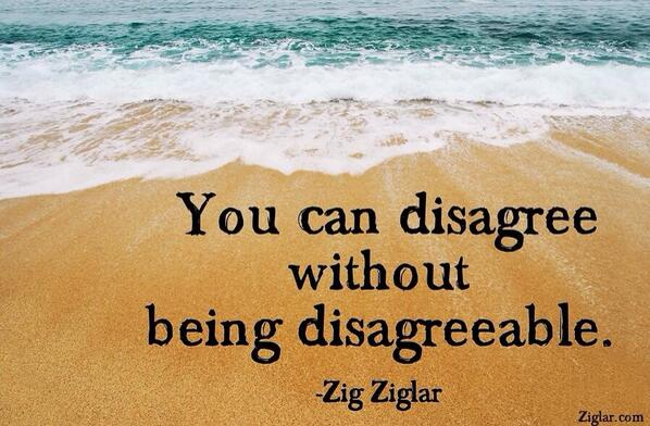 Disagreeing quote image