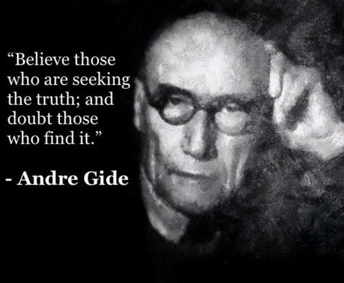 Finding out the truth quote Believe those who are seeking the truth; and doubt those who find it.