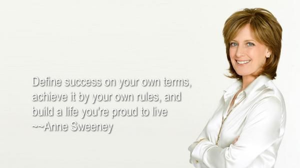 Be proud quote Define success on your own terms, achieve it by your own rules, and build a life