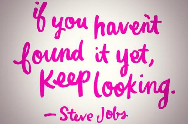 Picture quote by Steve Jobs about motivational