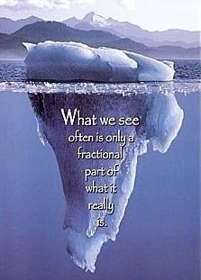 Parting quote What we see ofter is only a fractional part of what it really is
