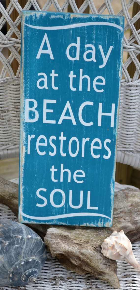 Beach quote image
