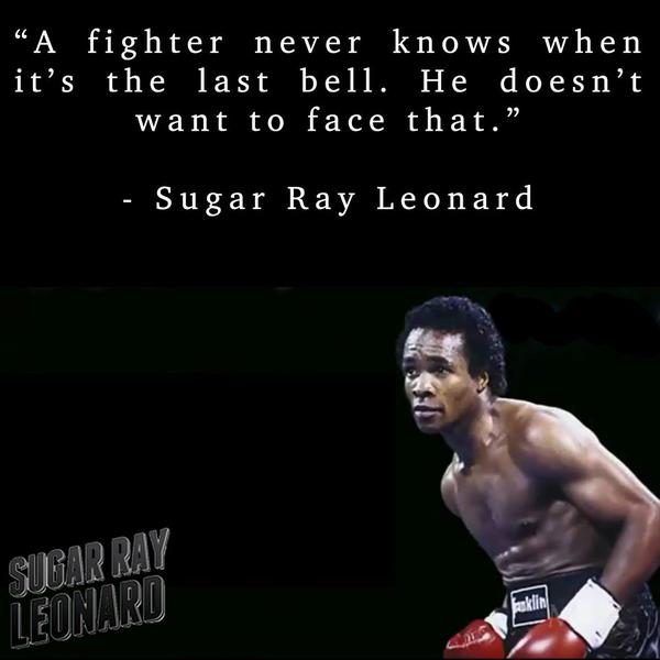 Fig image quote by Sugar Ray Robinson