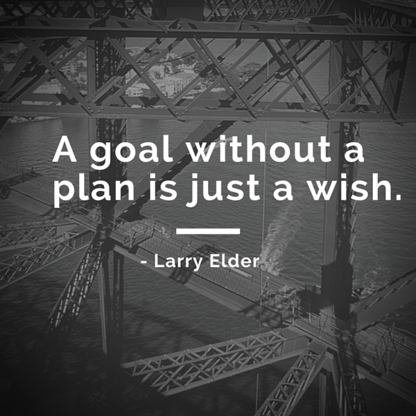 Wish quote A goal without a plan is just a wish.