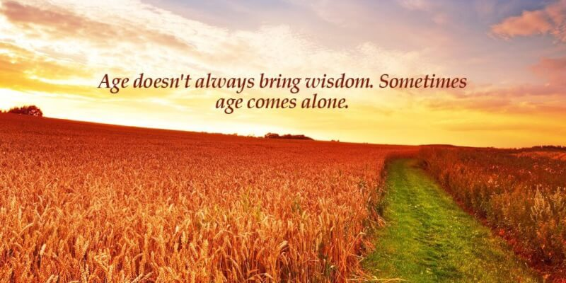 Picture quote by Sayings about age