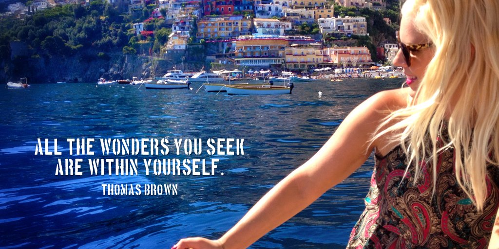 Wonder quote All the wonders you seek are within yourself.