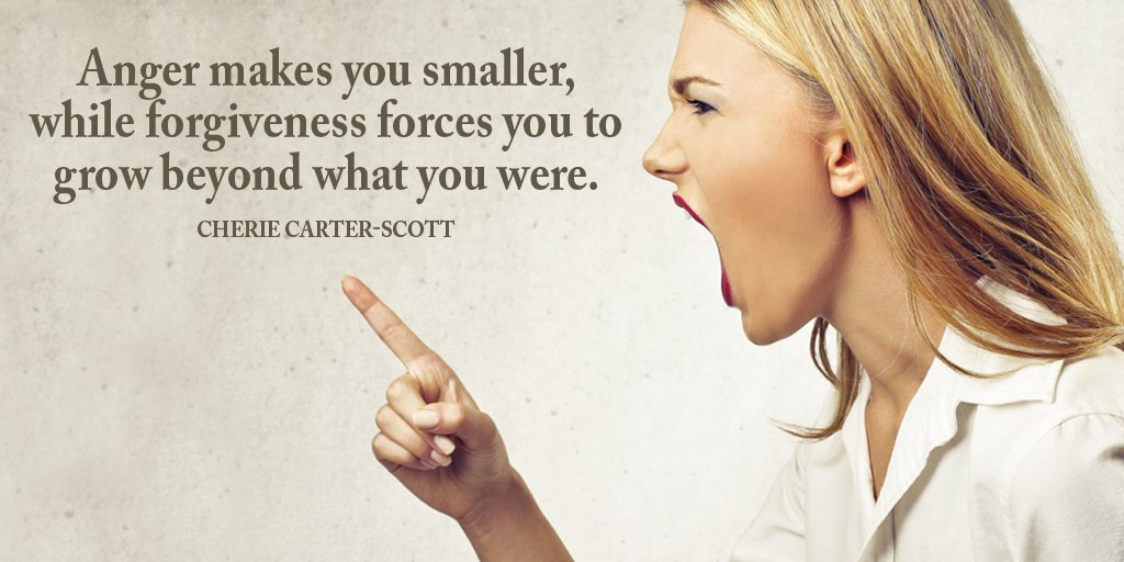 Angered quote Anger makes you smaller, while forgiveness forces you to grow beyond what you we