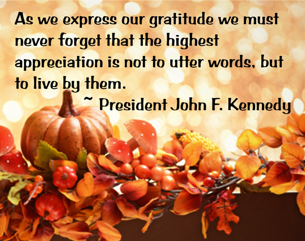 Picture quote about gratitude